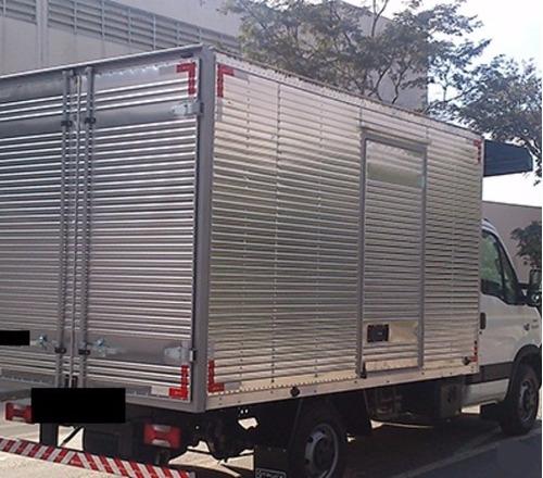 iveco daily 35 s14 bau de aluminio carga seca 2016