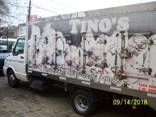 iveco daily 3510 con furgon termico para congelados