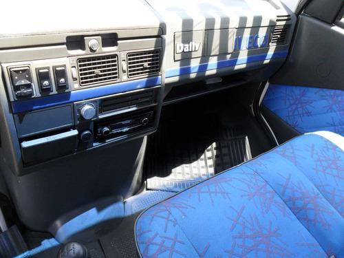 iveco daily 3513 ano 2007 com carroceria de madeira