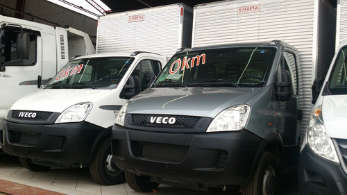 iveco daily 35s14 0km com baú 2017
