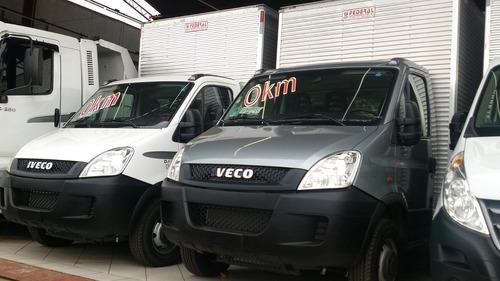 iveco daily 35s14 0km com baú 2018