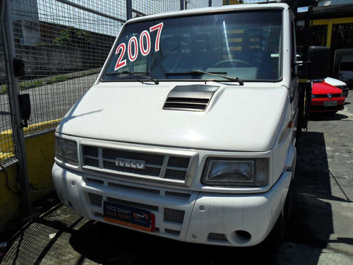 iveco daily 35s14 2007 com carroceria de madeira