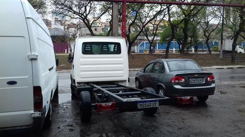 iveco daily 35s14 2008 chassi c/69 mil km originais,nova!!