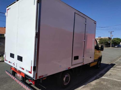 iveco daily 35s14 2014 baú documento caminhonete covelp
