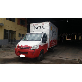 Iveco Daily 35s14 Ano 2014 Bau Camionete