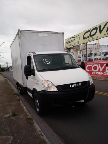 iveco daily 35s14 baú 2015 covelp