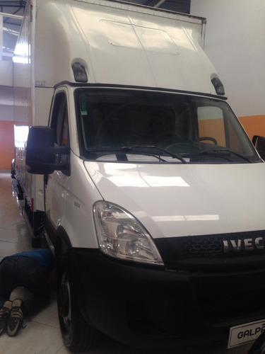iveco daily 35s14 bau com serviço troco carro maior valor