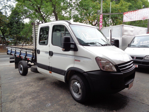 iveco daily 35s14 - cab dupla - ano 2012