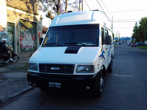 iveco daily   4013   furgon  2007 full con doble aire