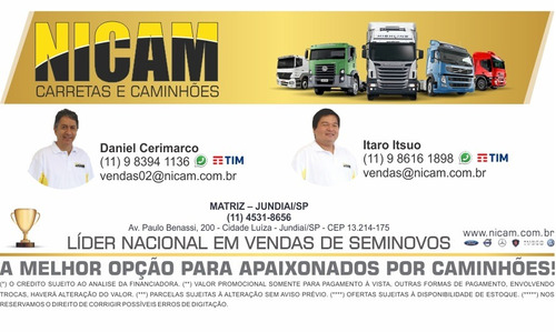 iveco daily 45s14 granfurgão entr.+parcelas r$1.310,00 h1305