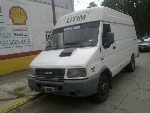 iveco daily 4912 2006 furgon revestido aire vtv