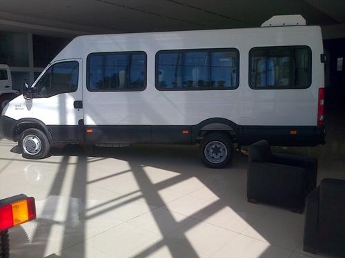 iveco daily 50c17 minibus 19 + 1 transporte pasajeros