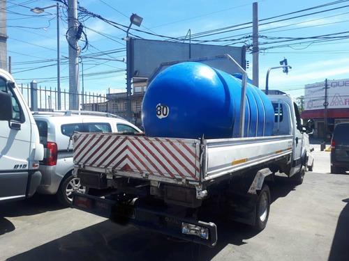 iveco daily 55c16 2015 baranda volcable y cisterna 5000lts