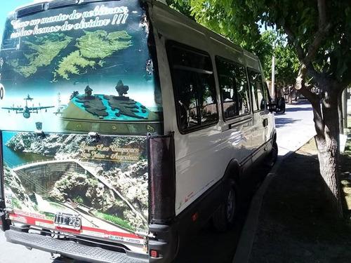 iveco daily 55c16 minibus mod. 2009 19+1 butacas