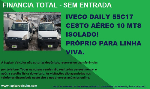 iveco daily 55c17 cesto aéreo