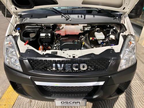 iveco daily 55c17 paso 3300 12m3 eje dual 170cv =0km 2018