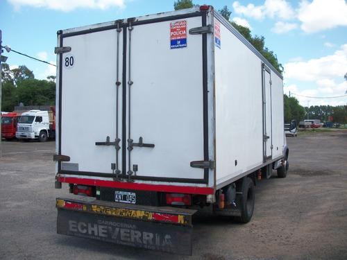 iveco daily 70c16 caja paquetera 5.80m  excelente estado .