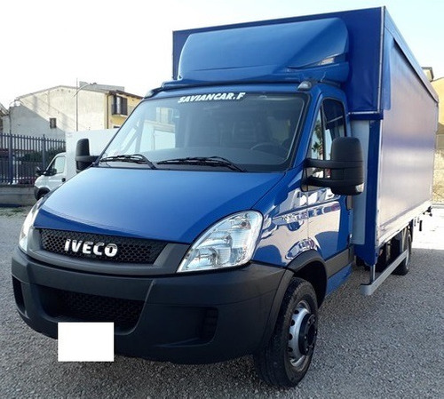 iveco daily 70c17 baú sider 2016