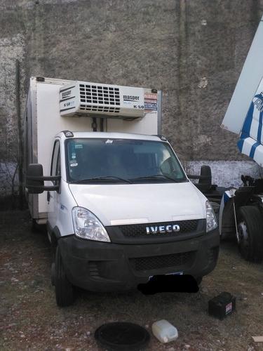 iveco daily 70c17 con termica supercongelados y frio dual