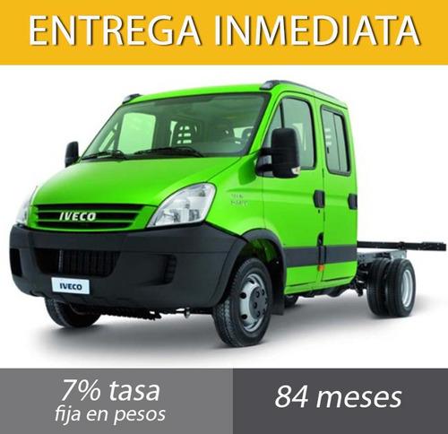 iveco daily 70c17 dc por solo $121.200 y saldo en cuotas