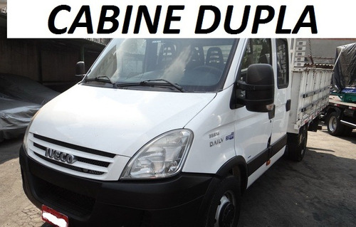 iveco daily cabine dupla 35s14 2012