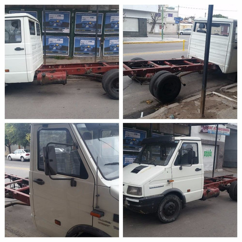 iveco daily chasis con cabina