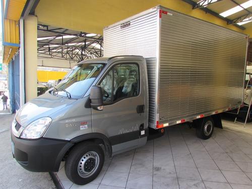 iveco daily chassi bau cinza 2020 pronta entrega