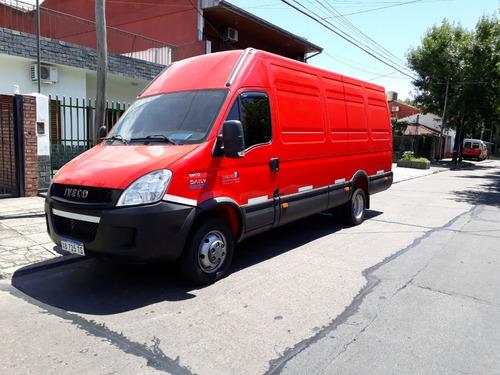 iveco daily furgon 55c17 17m3 unico dueño 2017