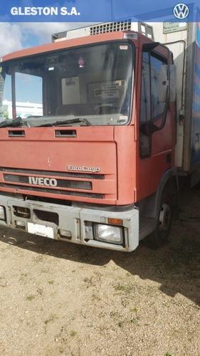 iveco euro cargo con furgón frigorífico u$s 10,000 + cuotas