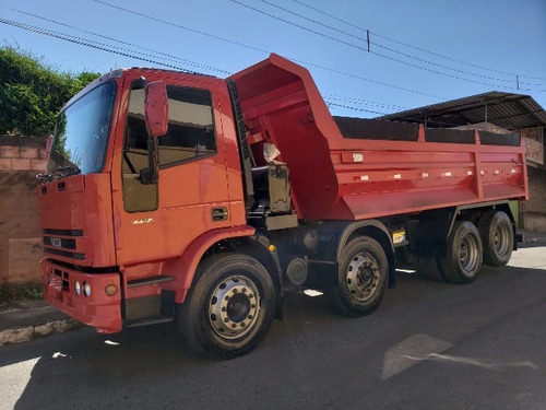 iveco eurocargo ano 2011/2012 8x2 caçamba bitruck