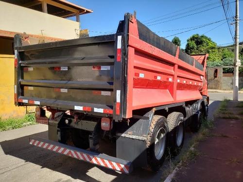 iveco eurocargo bitruck ano 2011/2012 8x2 caçamba