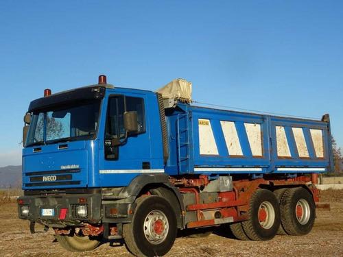 iveco eurotrakker camión volquete del 2002 en venta
