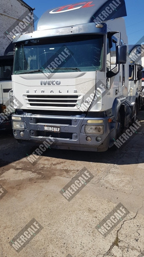 iveco stralis 380 hd ano 2006 4x2