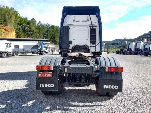 iveco stralis 400 4x2t teto alto 2012/2013 automático