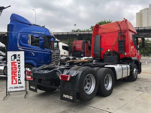 iveco stralis 440 aut. truck baixa km fh400 420 440  25420