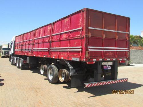 iveco stralis 460 6x2 - automático - carreta graneleira