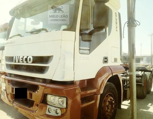 iveco stralis hd 570s38tn - 08/08 - cavalo truck, revisado