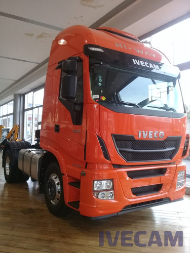 iveco stralis hi way 0km camiones 2018