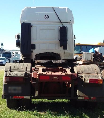 iveco tech 450e 37t - año 2005 - tractor