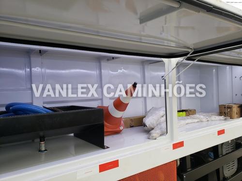 iveco tector 150e21 comboio melosa lubrificante pressurizado