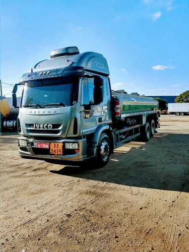 iveco tector 240e25 ano 2011 tanque 15000 litros teto alto