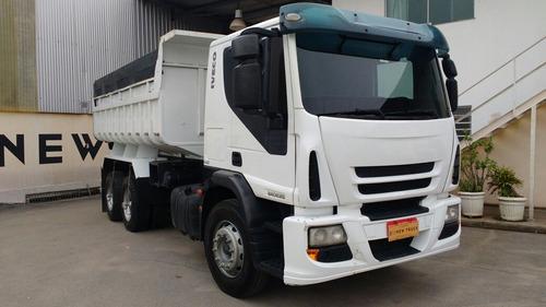 iveco tector 240e25 truck + caçamba 2011
