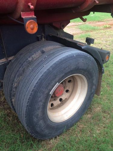 iveco tector 250 hp camion y acoplado granelero