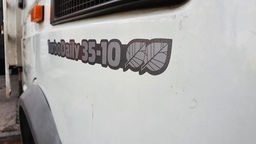 iveco turbo daily 35 10 - unico dueño caja fyrsa excelente