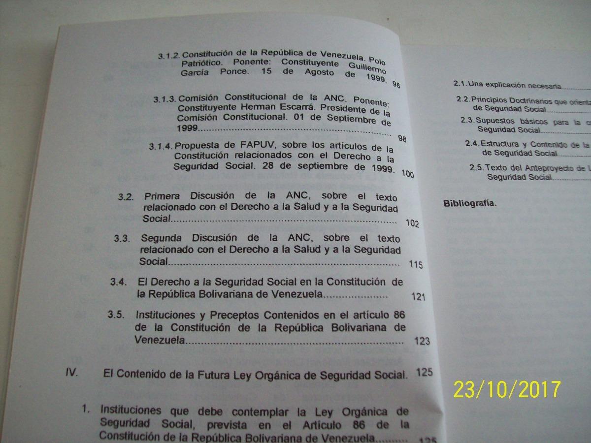 Iveplan Faces Derecho A La Seguridad Social C R B V 2001 Bs 73 234 77