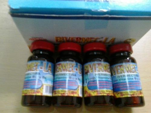 ivermetina +vitamina al1% frasco de 10ml