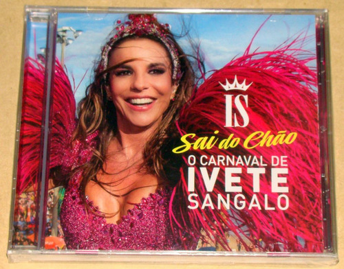 ivete sangalo o carnaval sai do chao cd arg nuevo / kktus