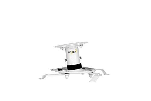 ivolum universal proyector de montaje en techo pdh130 - blan