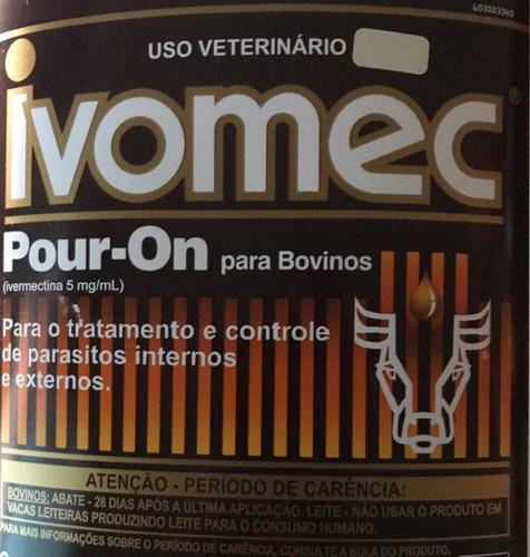 ivomec pour on ( azul ) 30 ml fracionado original