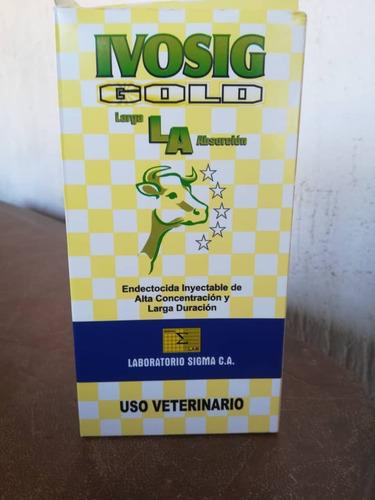 ivosig gold l.a. de 500ml  ganado cerdo ovejo